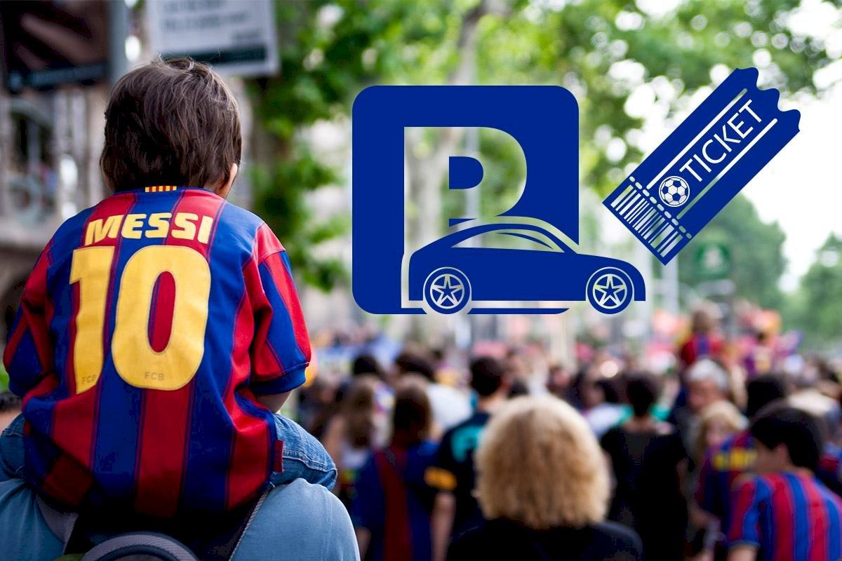 Se rendre au Camp Nou en voiture un jour de match, aujourd'hui c'est possible.