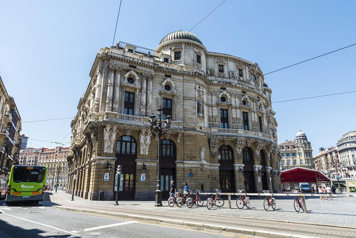 Teatro Arriaga Aparcar Gratis Bilbao