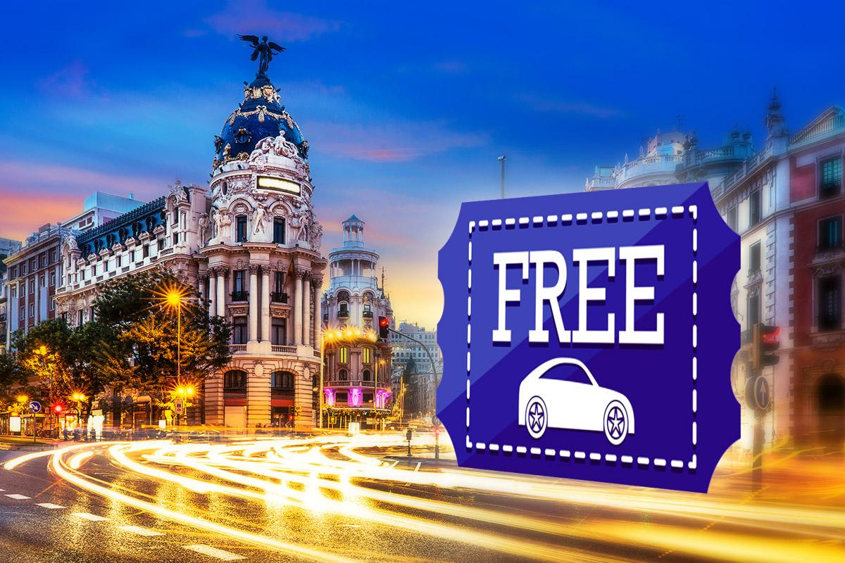 Aparcar gratis en Madrid: zonas donde poder dejar el coche