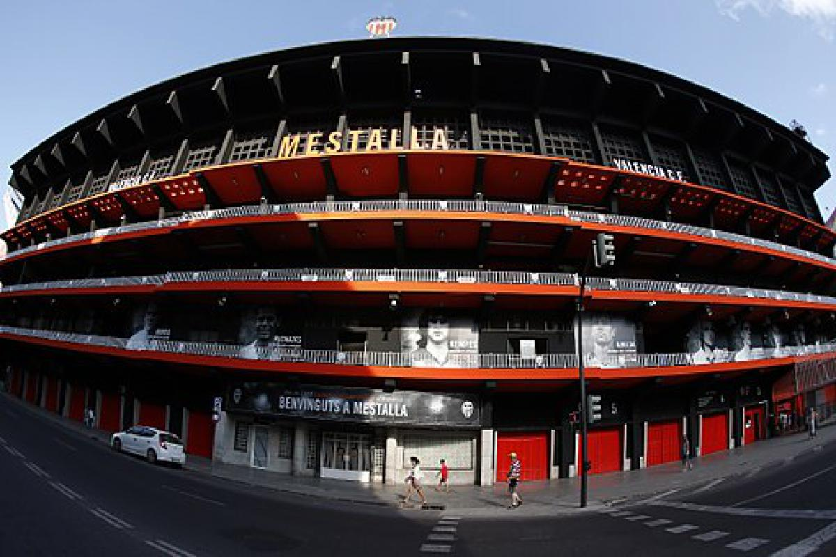 Dove parcheggiare a Valencia vicino allo stadio Mestalla