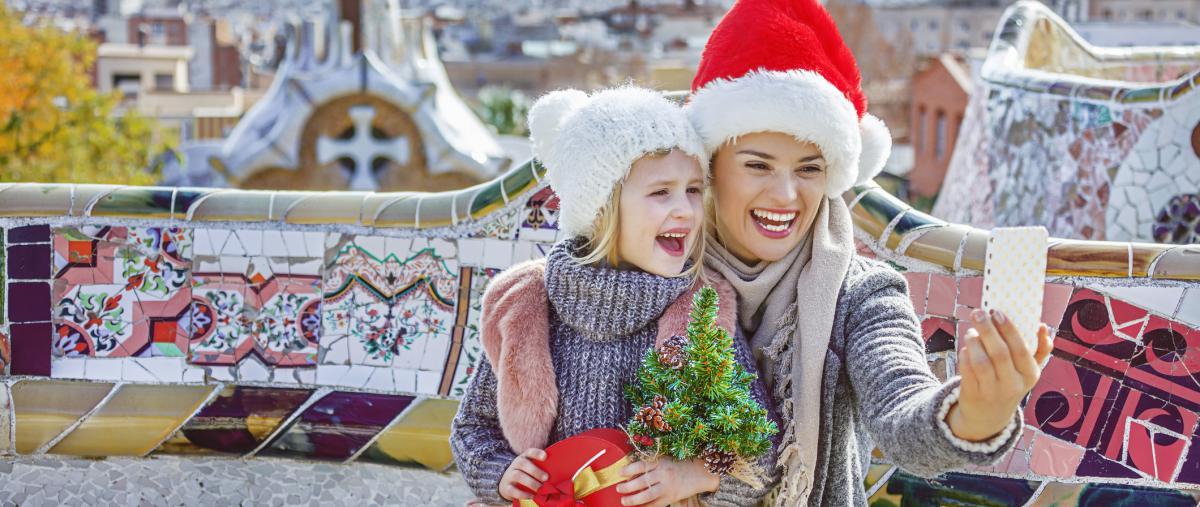 Visitar Barcelona en Navidad en coche y sin problemas de aparcamiento