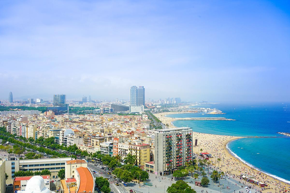 Trovare parcheggio gratis spiaggie di Barcellona
