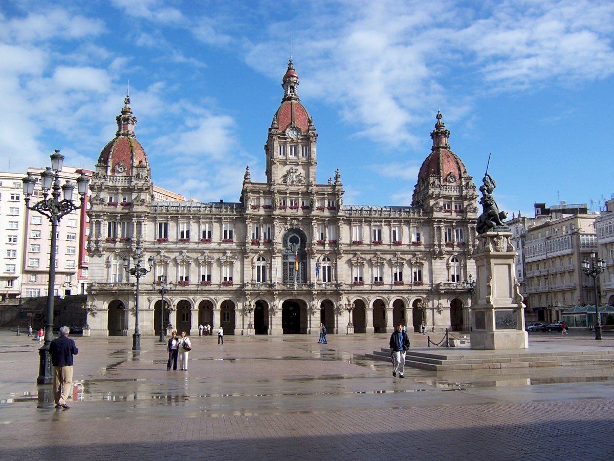 Saiba onde estacionar grátis no centro de a Coruña