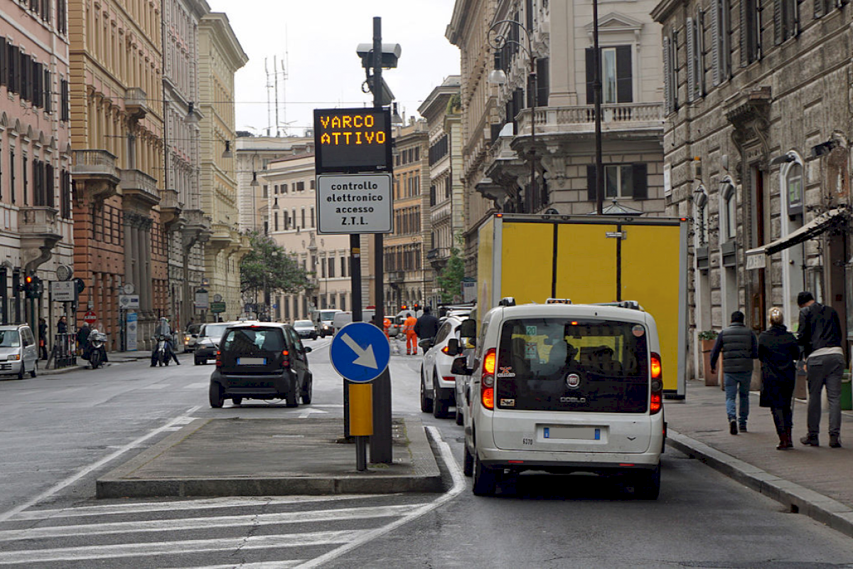 Florence's Limited Traffic Zone (updated 2020)