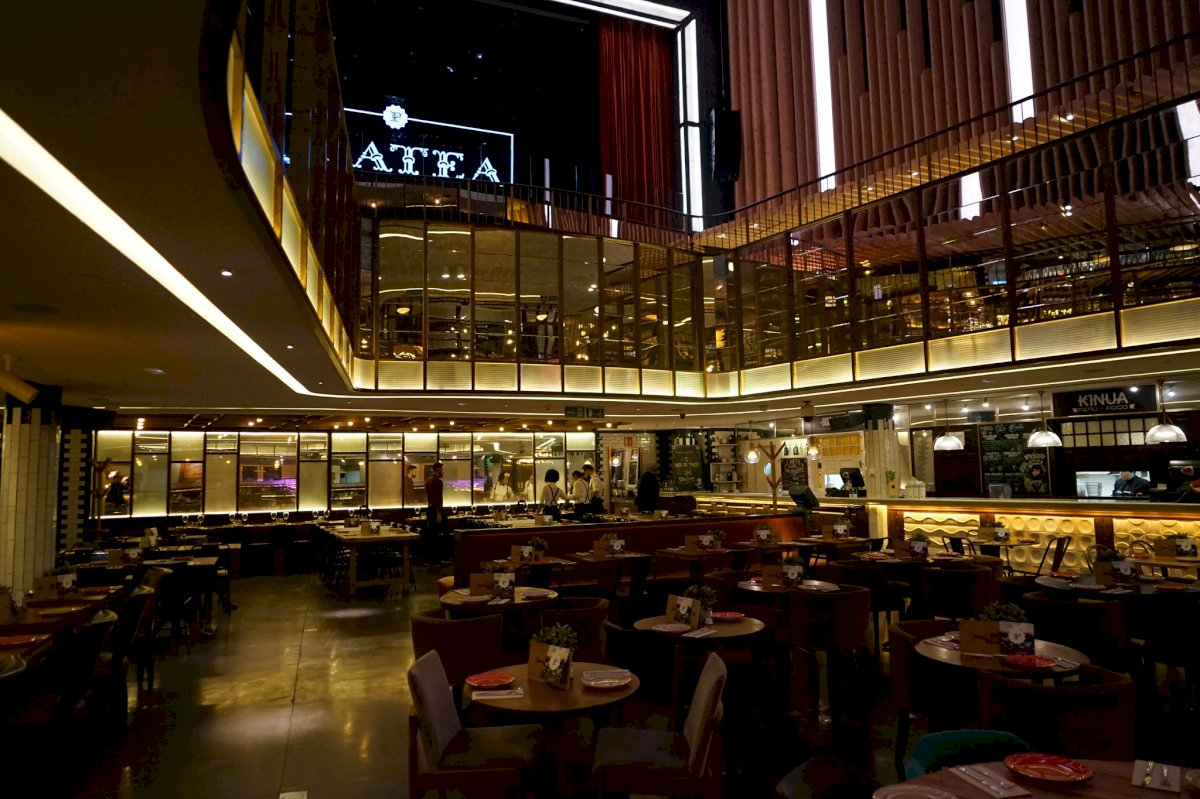 Interior de Platea - Madrid