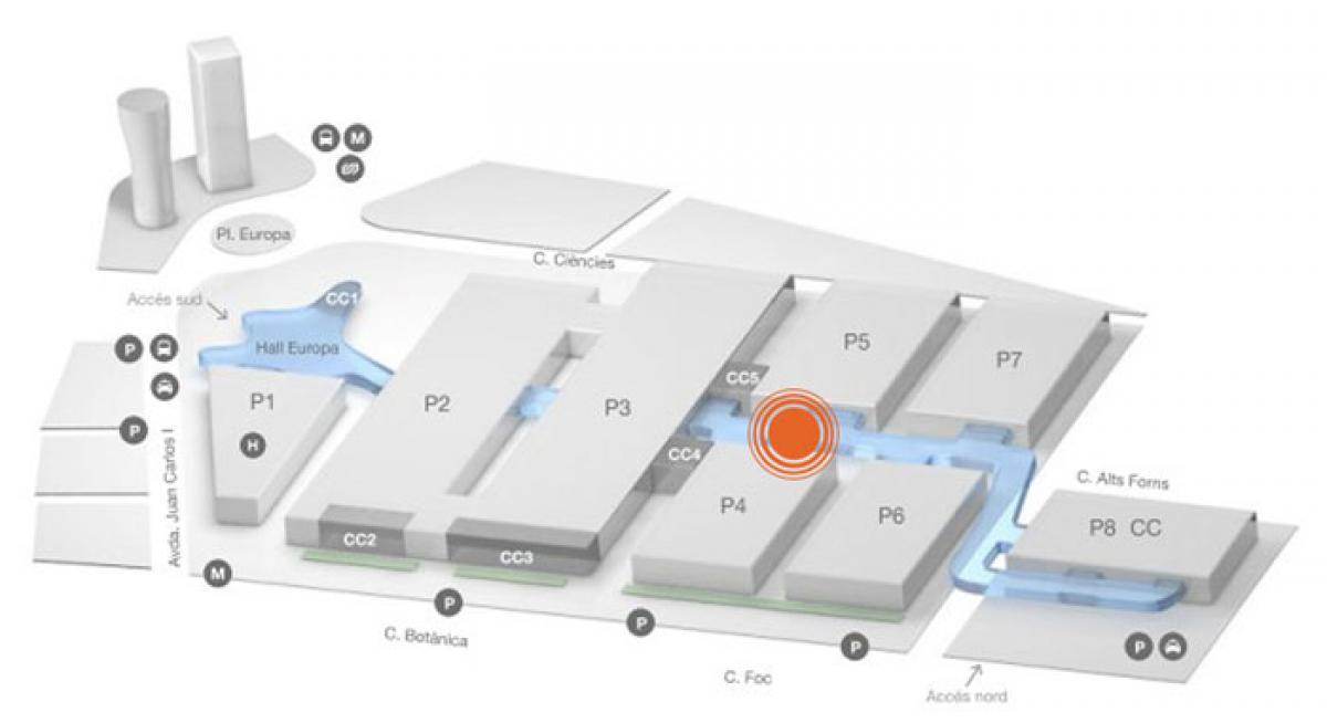 Plano del Congress Square 5
