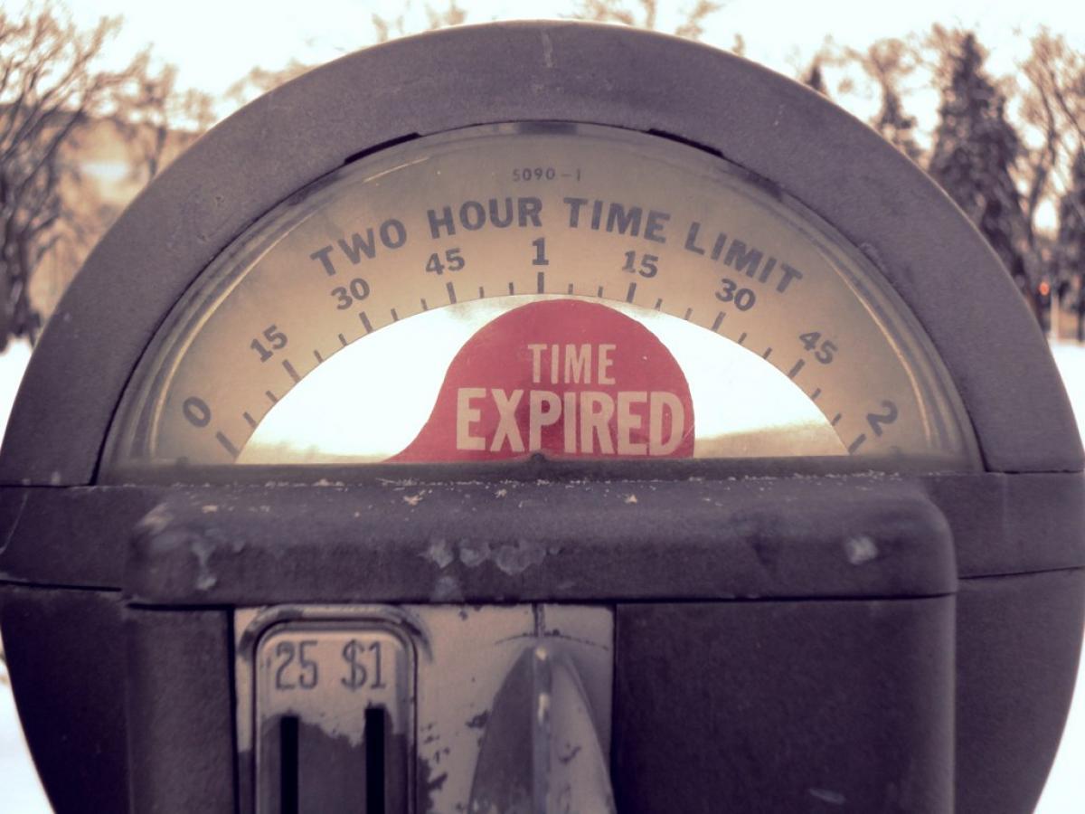Old Parking Meter Smart Parking