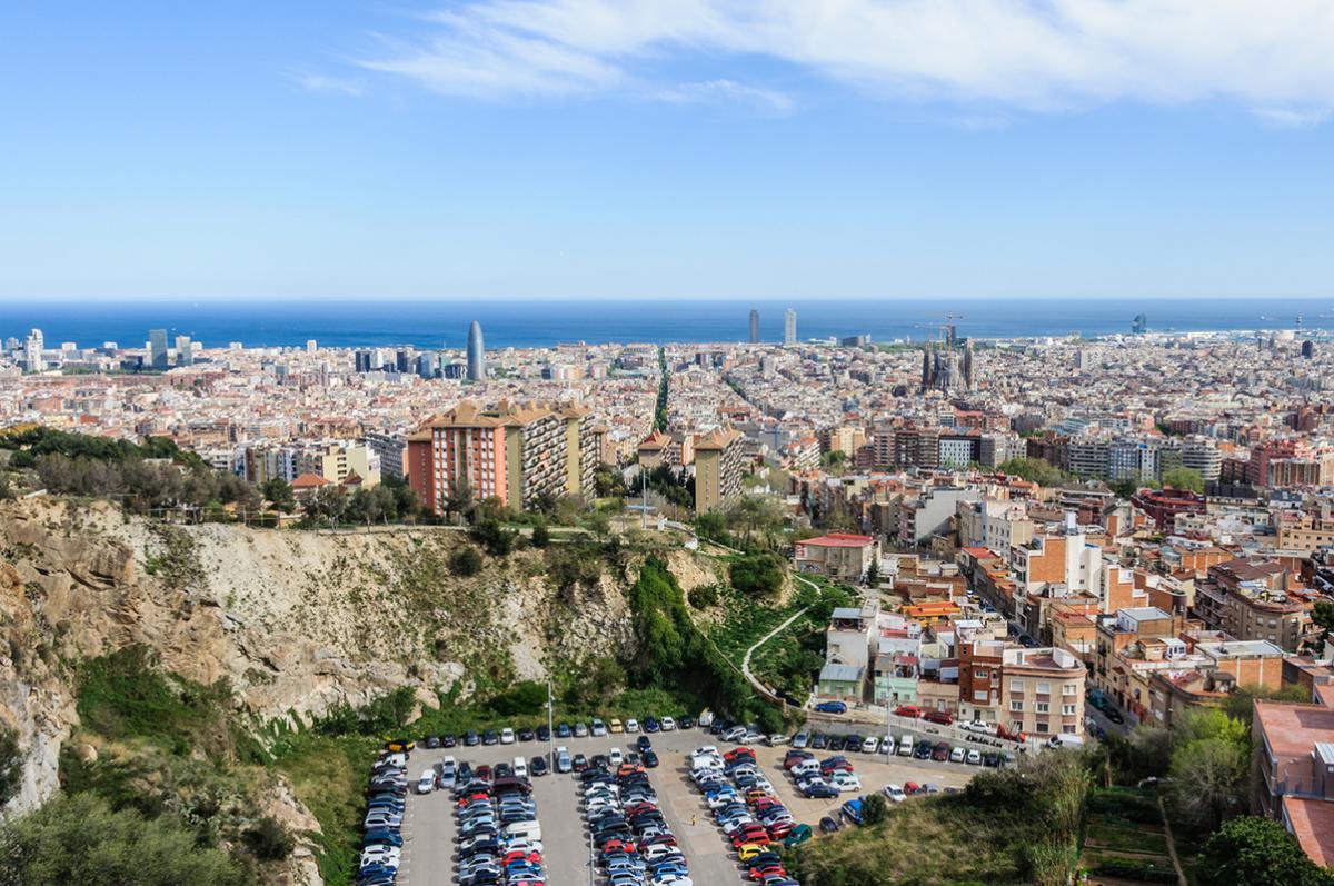 Où se garer gratuitement à Barcelone: Quartier de Vall d'Hebron et Guinardó