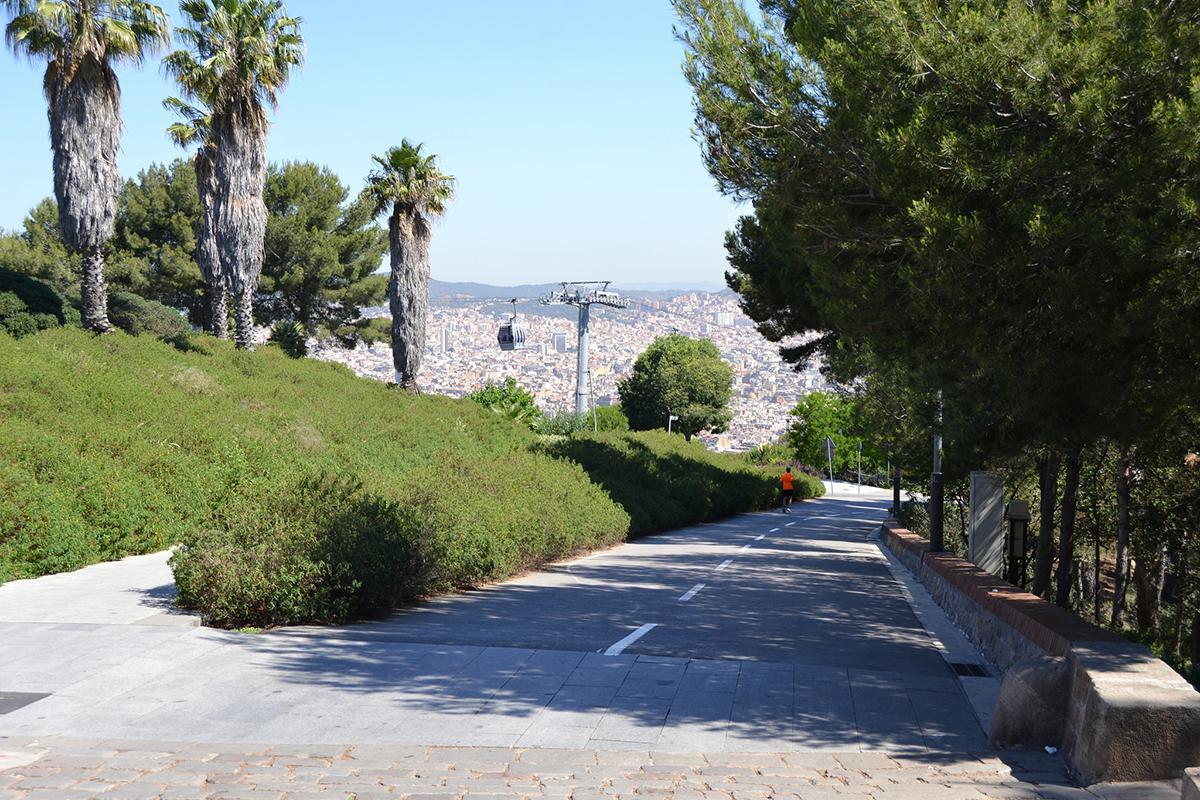 Parcheggio Gratis Barcellona – strade di Montjuic