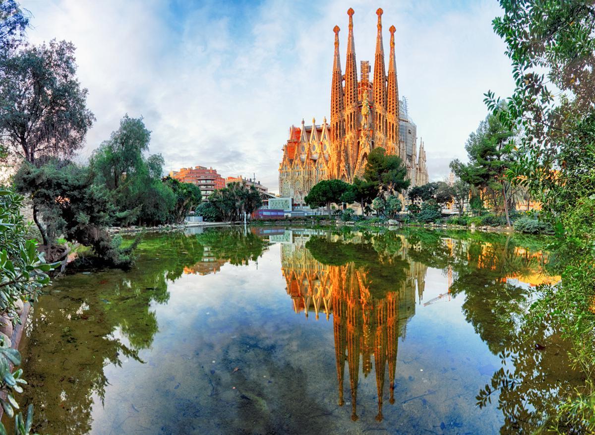 Parcheggio gratis Barcellona Sagrada Familia