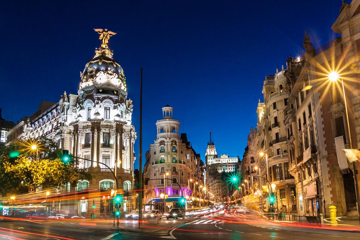 Cosa visitare Madrid Gran Vía