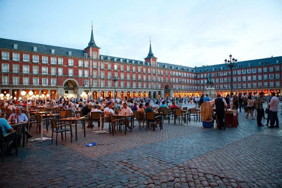Cosa visitare Madrid Plaza Mayor