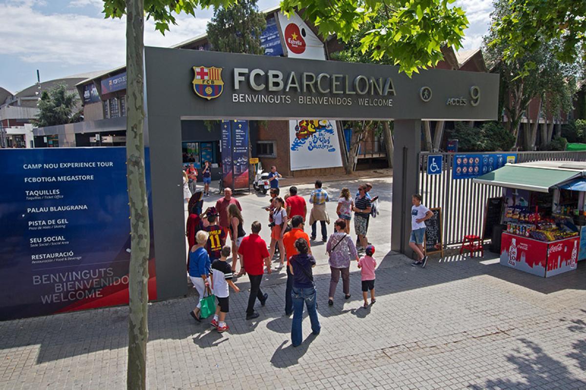 Entrée du Camp Nou Experience