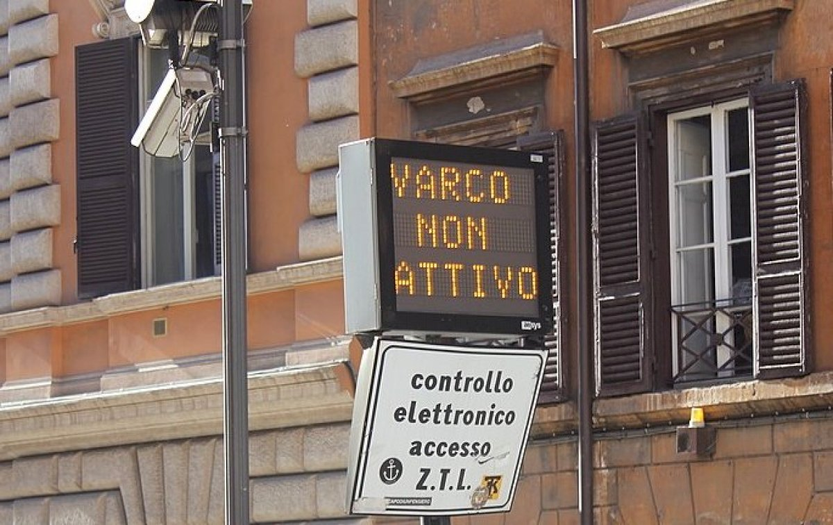 Rome's Limited Traffic Zone