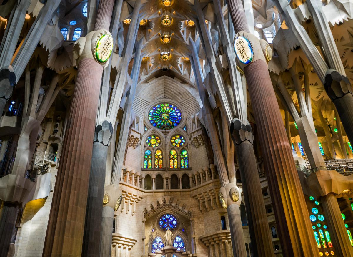 La Sagrada Familia è uno dei tre monumenti più visitati all'anno a livello nazionale