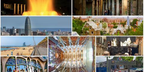 Voyage et parking à Barcelone: Les incontournables