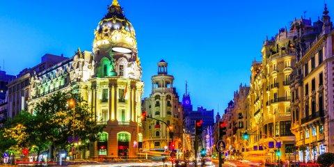 Aparcar en la Gran Vía de Madrid