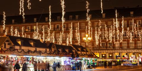 Come trovare parcheggio a Madrid questo Natale