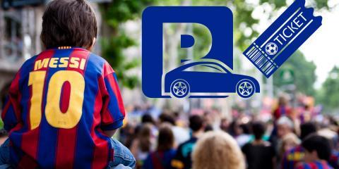Visitare il Camp Nou in auto nei giorni delle partite: adesso è più facile