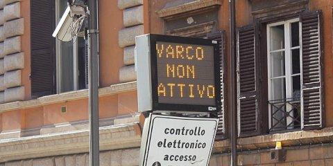 La Zona a Traffico Limitato di Roma