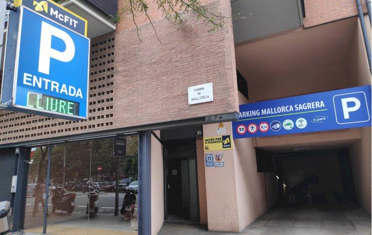 Parking Mallorca-Sagrera