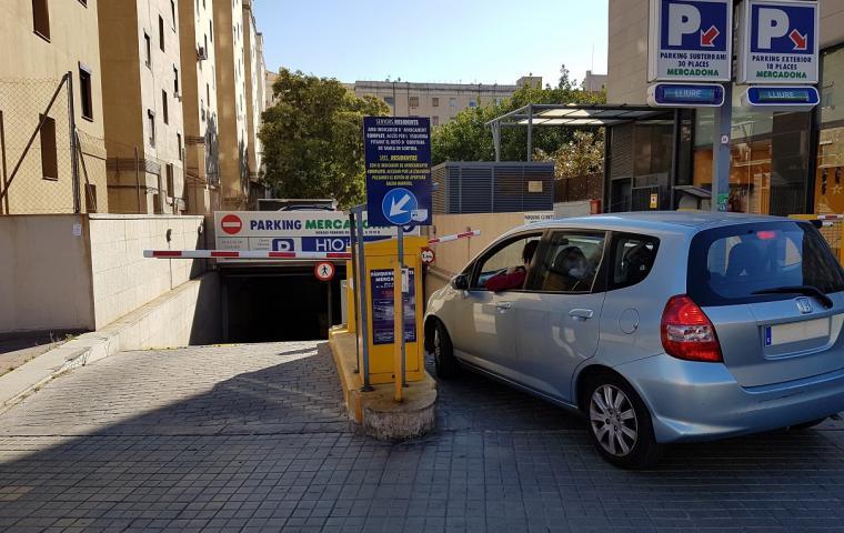 Parking Roma - Estació de Sants