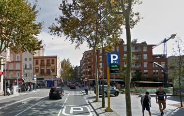 Book a parking spot in Pompeu Fabra car park