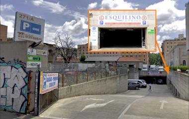 Parking Esquilino Stazione Termini