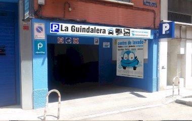 Reservar una plaza en el parking La Guindalera