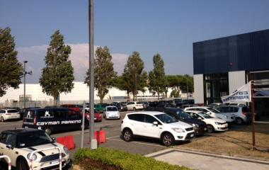 Reservar una plaza en el parking Cayman-Fiumicino-shuttle