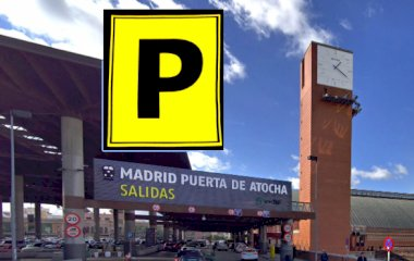 Book a parking spot in Xpress Atocha - Valet car park