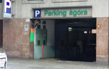 Reservar una plaza en el parking Àgora - Escola Industrial