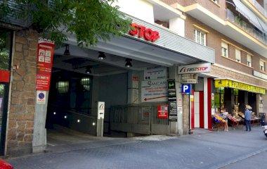 Reserve uma vaga de  estacionamento no Garaje Fraile