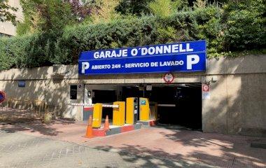 Reservar una plaza en el parking Garaje O'Donnell