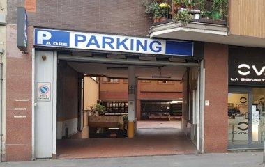 Reserveer een parkeerplek in parkeergarage Garage Portello