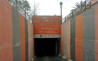 Reservar una plaça al parking Martí Grajales