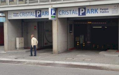 Reservar una plaza en el parking Cristal Park