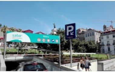 Réservez une place dans le parking SABA Parque da Ribeira - Praça do Infante