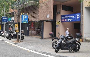 Réservez une place dans le parking Mallorca-Sagrera