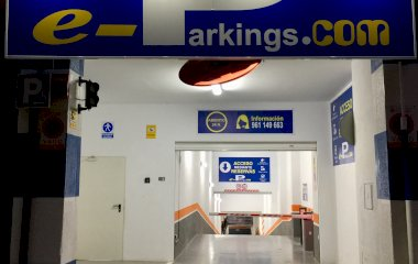 Book a parking spot in e-Parkings car park