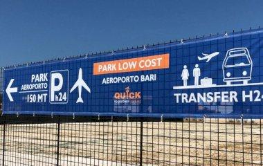 Prenota un posto nel parcheggio Quick Aeroporto Bari - Shuttle - Low Cost