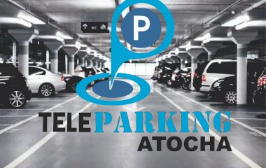 Book a parking spot in Teleparking Atocha Servicio Valet car park