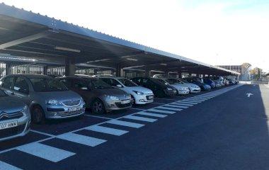 Reserve uma vaga de  estacionamento no Estación Huelva