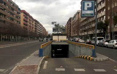 Reservar una plaza en el parking Centro - Avda. Aeropuerto