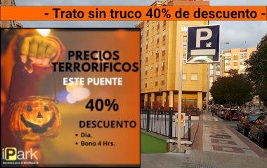Book a parking spot in Centro - Ronda car park