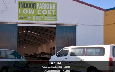 Reserveer een parkeerplek in parkeergarage Indoor Parking Low Cost - Shuttle Coberto