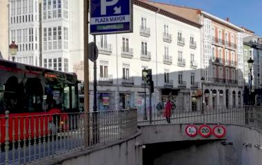 Reservar una plaça al parking APK2 Plaza Mayor de Burgos