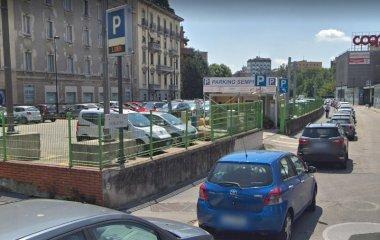 Book a parking spot in Sempione car park