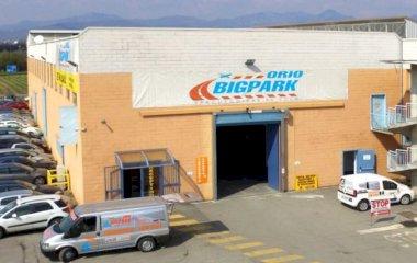 Prenota un posto nel parcheggio New Orio Big Park -  Shuttle Coperto