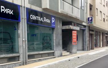 Reserveer een parkeerplek in parkeergarage Central Park Porto
